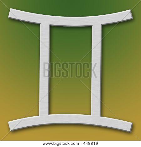 Gemini Aluminum Symbol