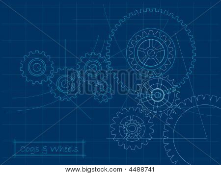 Cogs Blueprint (layered For Easy Editing)