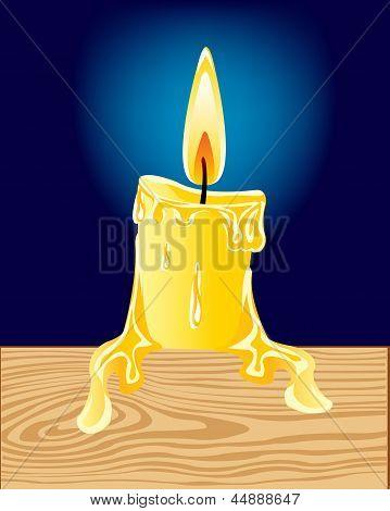 Burninging Candle