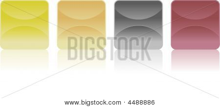 Different Stickers - Vector Image