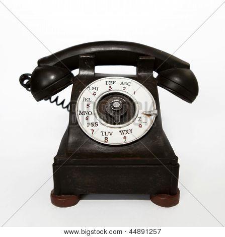 Wood Telephone