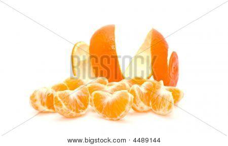 Lobules Of Mandarine