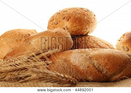 Isolated Bread