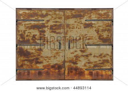 Big Old Metal Gate