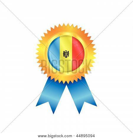 Moldova Medal Flag