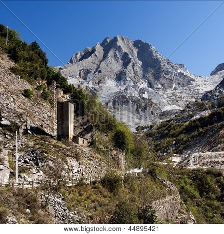 Marble Quarry View - Carrara, Italy