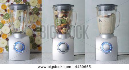 Blender And Fruit