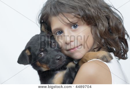 Portrait With Dog
