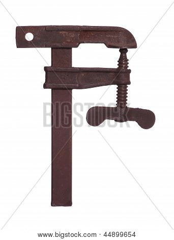 Old Rusty Clamp