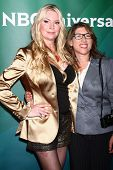 LOS ANGELES - APR 22:  Jackie Siegel, Lauren Greenfield at the NBCUniversal Summer Pres Day 2013 at