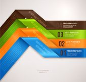stock photo of cans  - Modern infographic template for business design - JPG