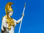picture of goddess  - the parliament in vienna - JPG