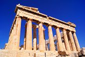 picture of parthenon  - Iconic ancient Athens landmark The Parthenon - JPG