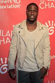 LOS ANGELES - APR 25:  Kevin Hart arrives at the Second Annual Hilarity For Charity benefiting The A