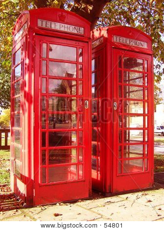 Old English Phone Boxes