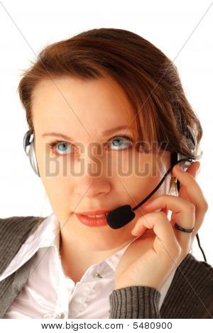Beautiful Call Centre Executive