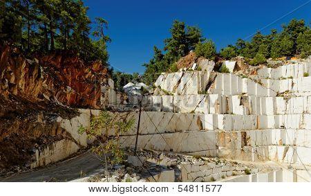 Thassos White Marble Quarry