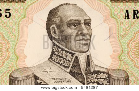 Toussaint Louverture On 1 Gourde 1989 Banknote From Haiti