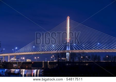 Veterans Glass City Skyway Bridge