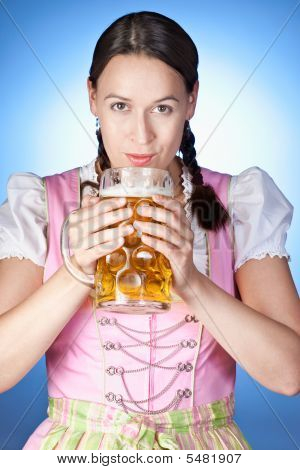 Garota da Oktoberfest