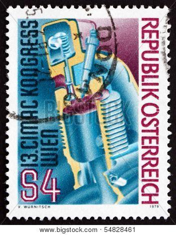 Postage Stamp Austria 1979 Diesel Motor