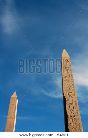 Two Obelisks