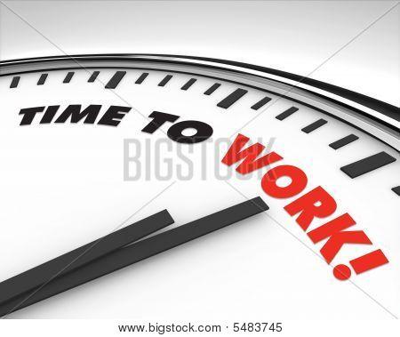 Time Clock arbeiten