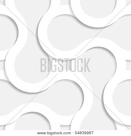 3d Vector Seamless Geometric Pattern