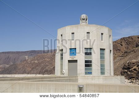 Arizona tower on Hoover Dam