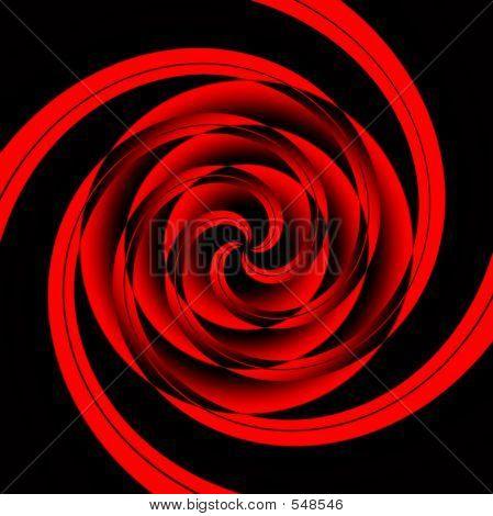 Vertigo Red Geometric