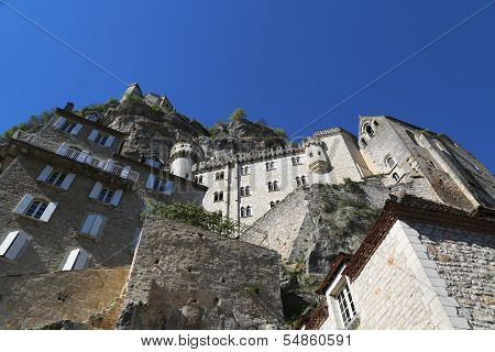 Episcopal city in Rocamadour, France.