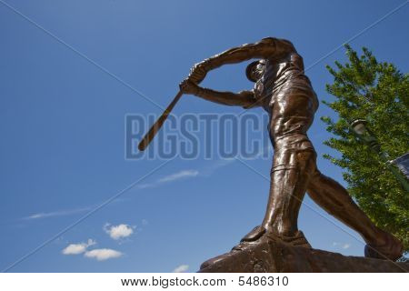 Robin Yount Statue At Miller Park
