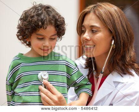 Female Pediatrician