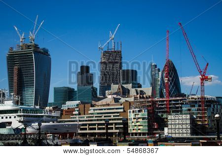 City Of London From The River