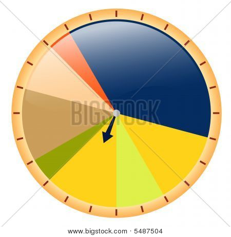 Colored Pie Chart
