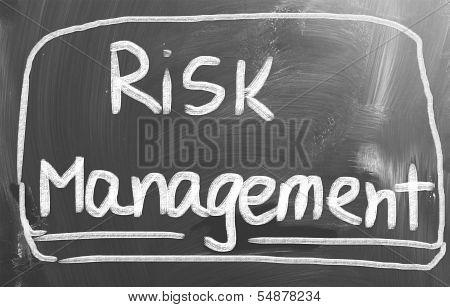 Risk Management Concept