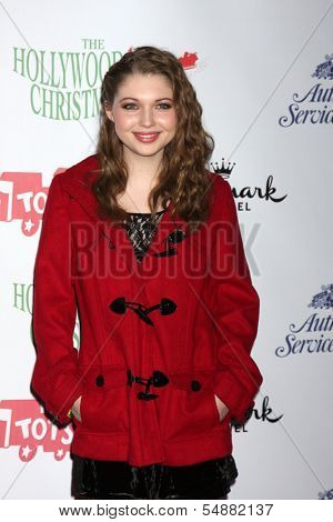 LOS ANGELES - DEC 1:  Sammi Hanratty at the 2013 Hollywood Christmas Parade at Hollywood & Highland on December 1, 2013 in Los Angeles, CA