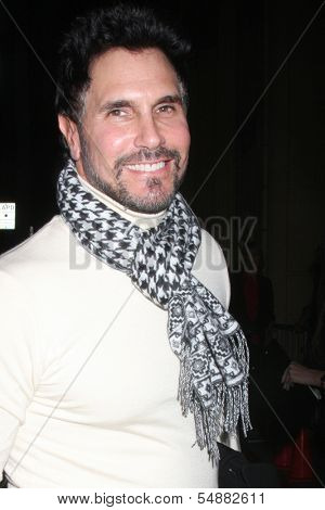 LOS ANGELES - DEC 1:  Don Diamont at the 2013 Hollywood Christmas Parade at Hollywood & Highland on December 1, 2013 in Los Angeles, CA