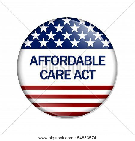 Affordable Care Act Button