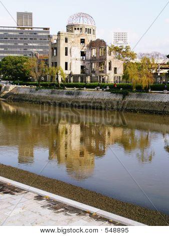 Japan Hiroshima Bomb Kuppel