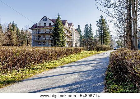 Bristol Hotel In A Quiet Area Of Zakopane