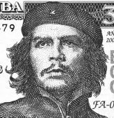 Ernesto Che Guevara On 3 Pesos 2004 Banknote From Cuba poster