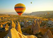 image of chimney rock  - Cappadocia - JPG