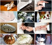 stock photo of cuff  - Set of wedding and bridal details - JPG