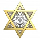 stock photo of synagogue  - Star of David - JPG