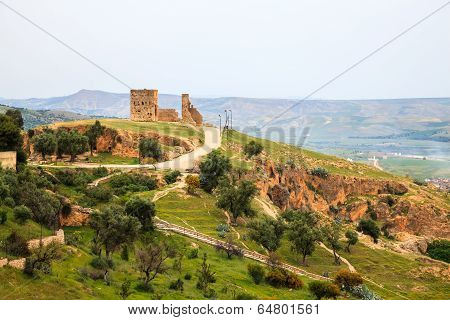 View at the viewpoint in fez