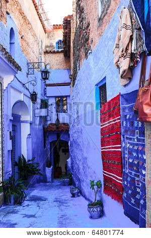 Chefchaouen, the blue city of morocco