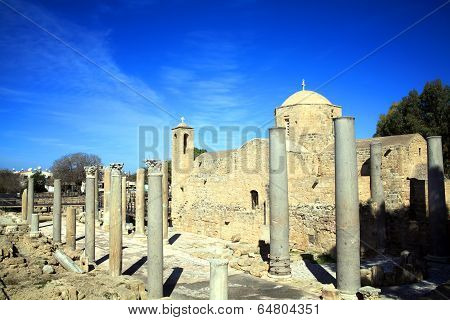 Agia Kyriaki church, Paphos, Cyprus