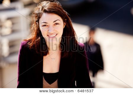 Candid Woman Portrait