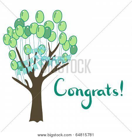Congrats tree